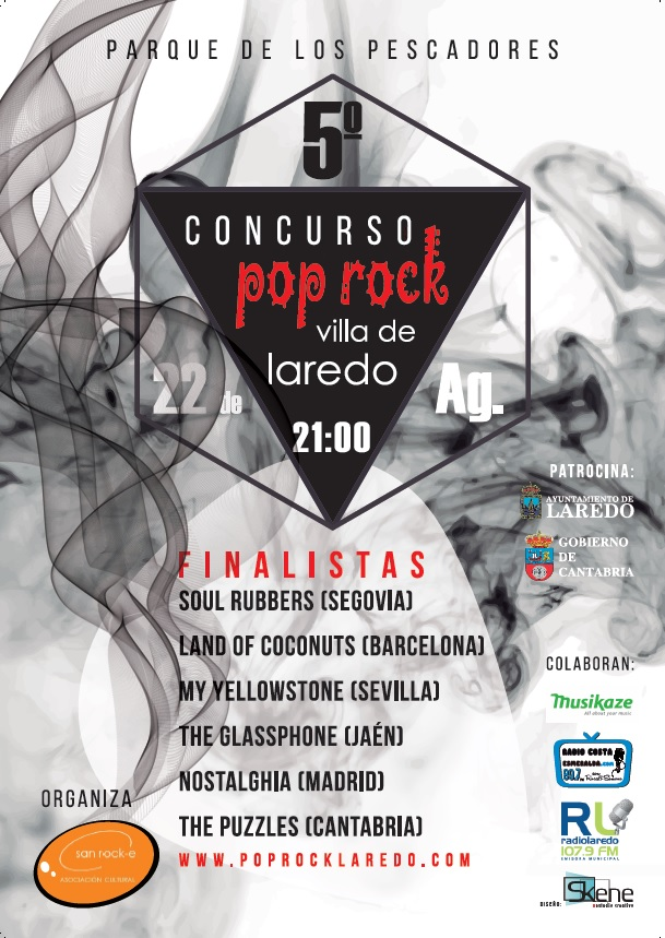 Concierto Final del Concurso Pop-Rock 'Villa de Laredo'
