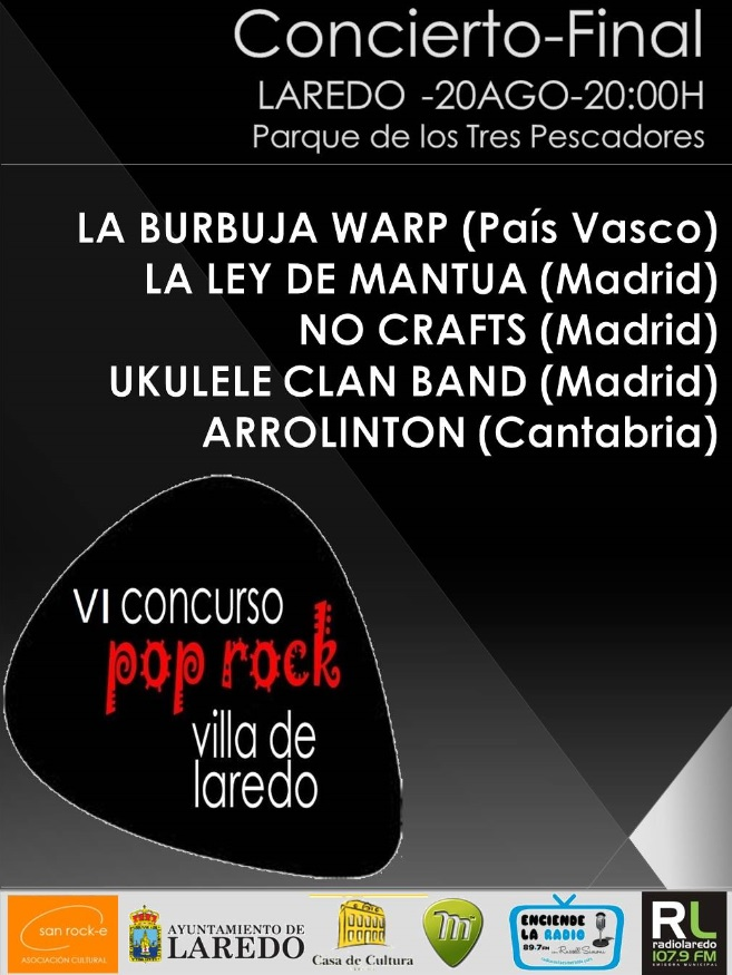 Final de Concurso Pop-Rock 'Villa de Laredo'